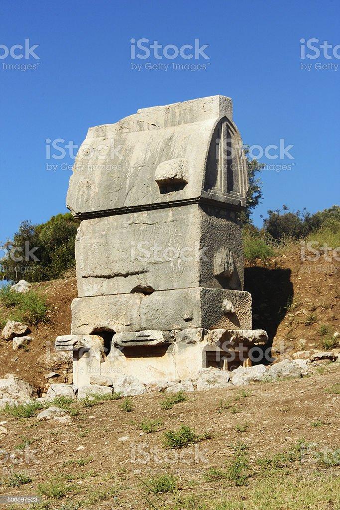 Старинный Гробница Стоковые фото Стоковая фотография