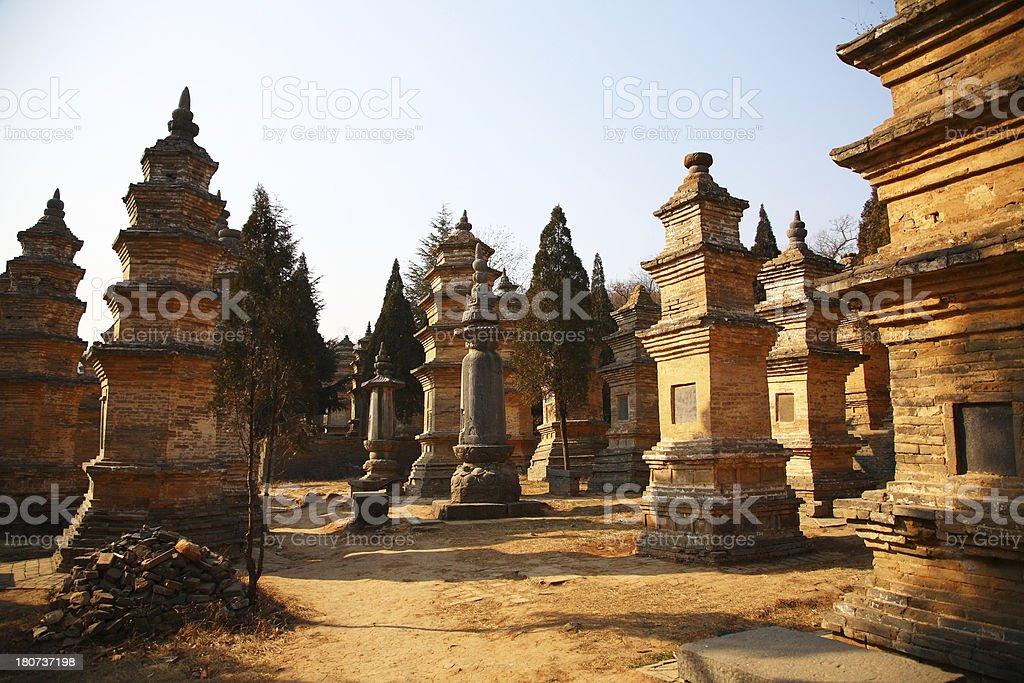 Ancient Tombs stock photo