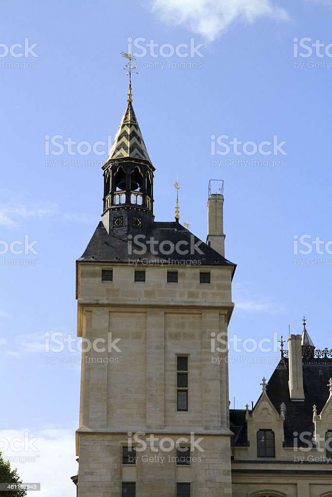 Ancient Tower of Gold stock photo