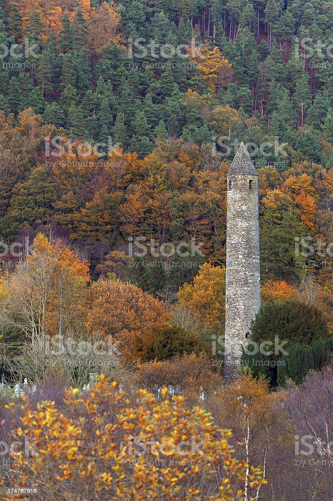 ancient tower stock photo