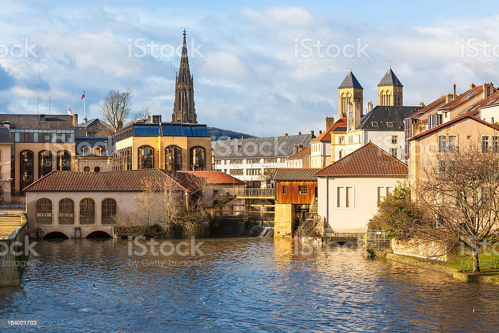 Ancient Town of Metz, France royalty-free stock photo
