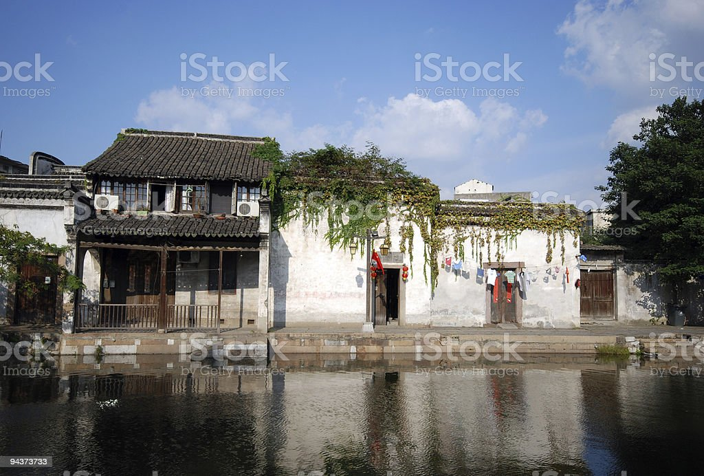 Ancient Town of Nanxun stock photo