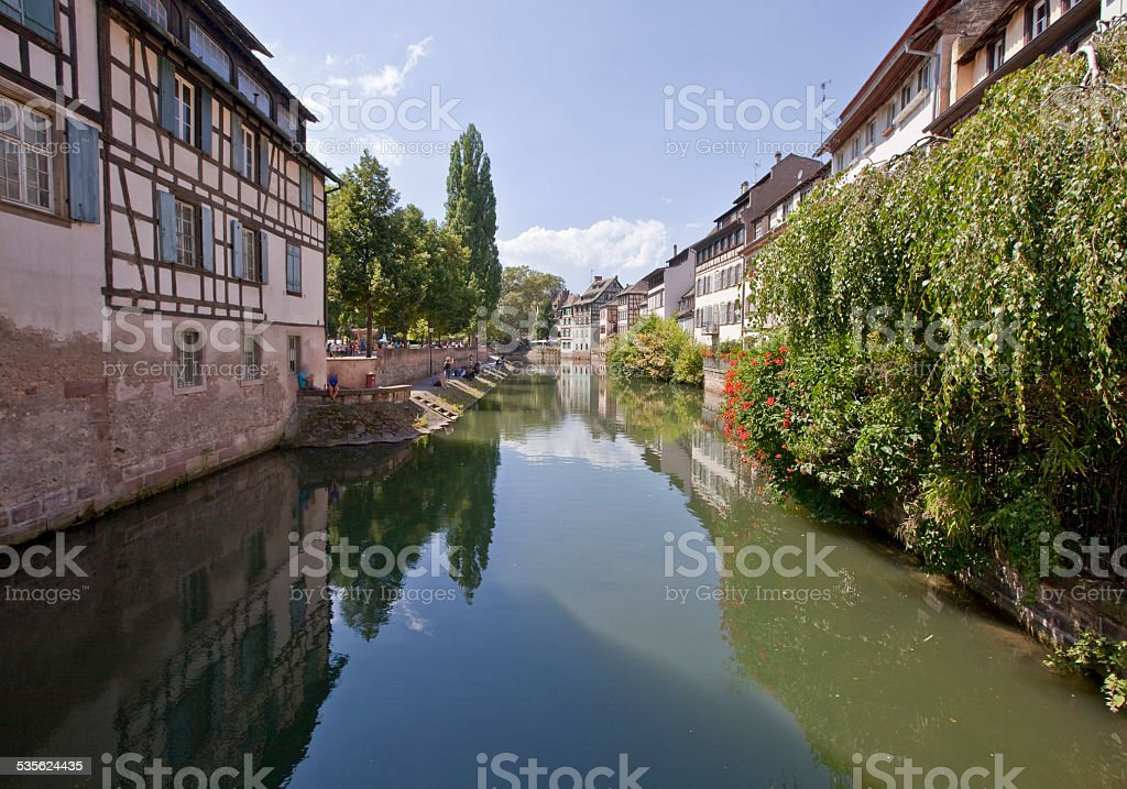 Ancient Town of Strasbourg stock photo