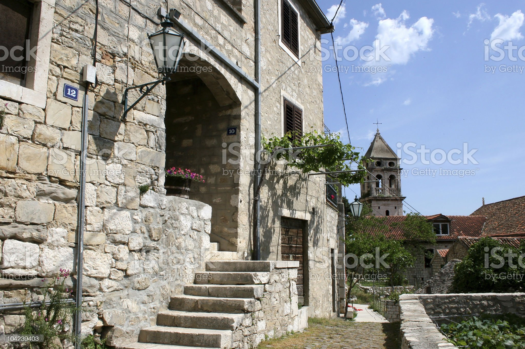 Ancient Town royalty-free stock photo
