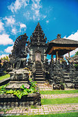 Ancient Traditional Hindu Religious Temple in Bali, Indonesia