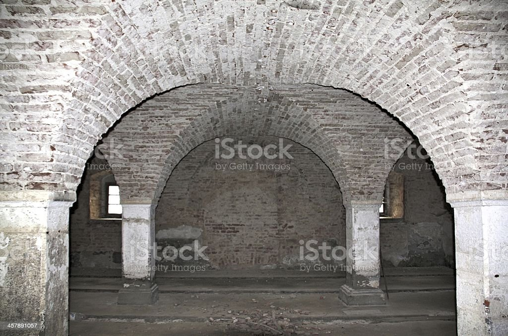 ancient vaults stock photo
