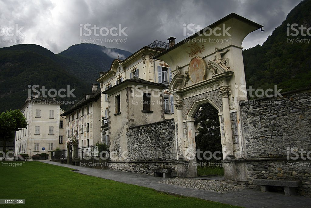 Ancient Village royalty-free stock photo