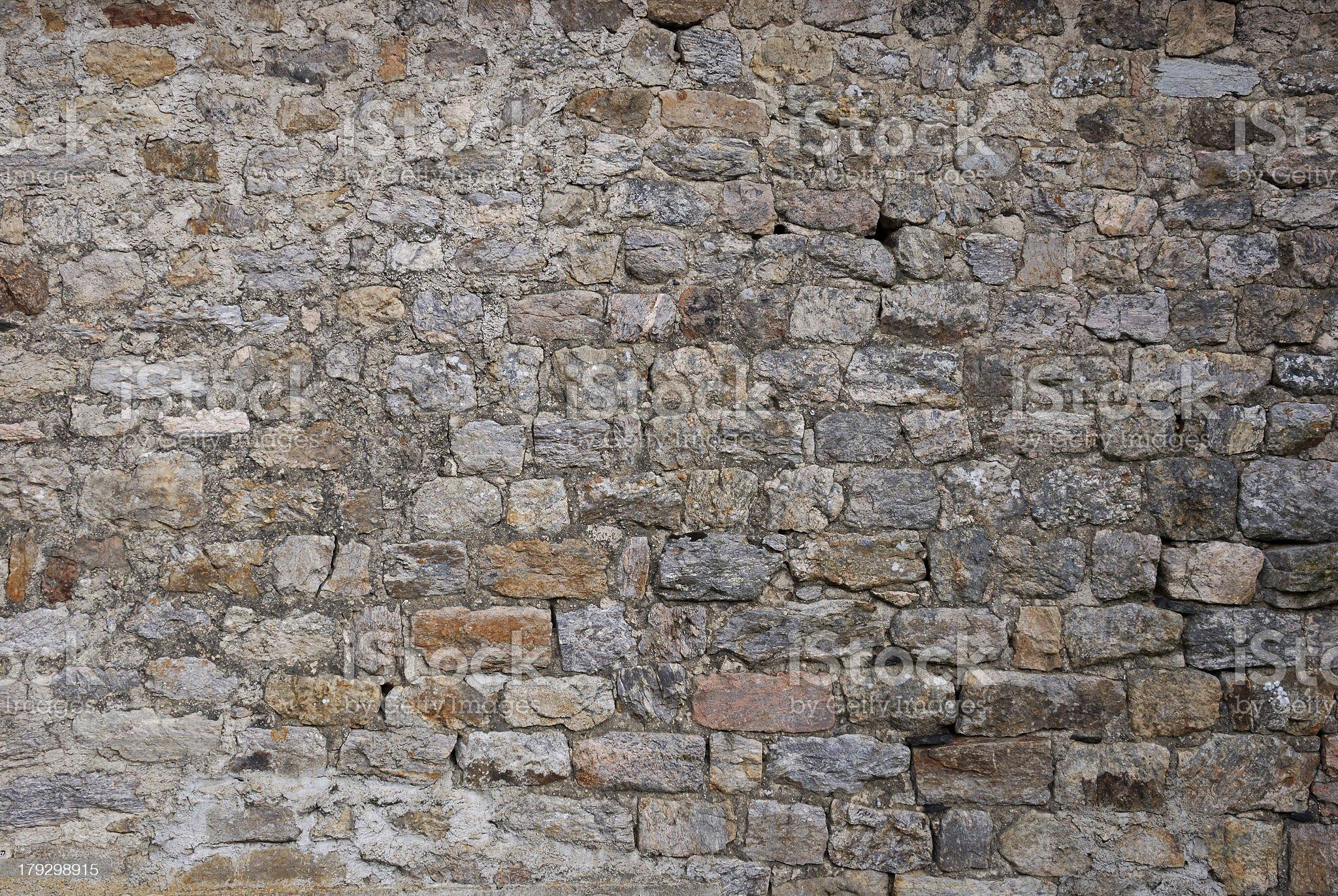 Ancient wall pattern royalty-free stock photo