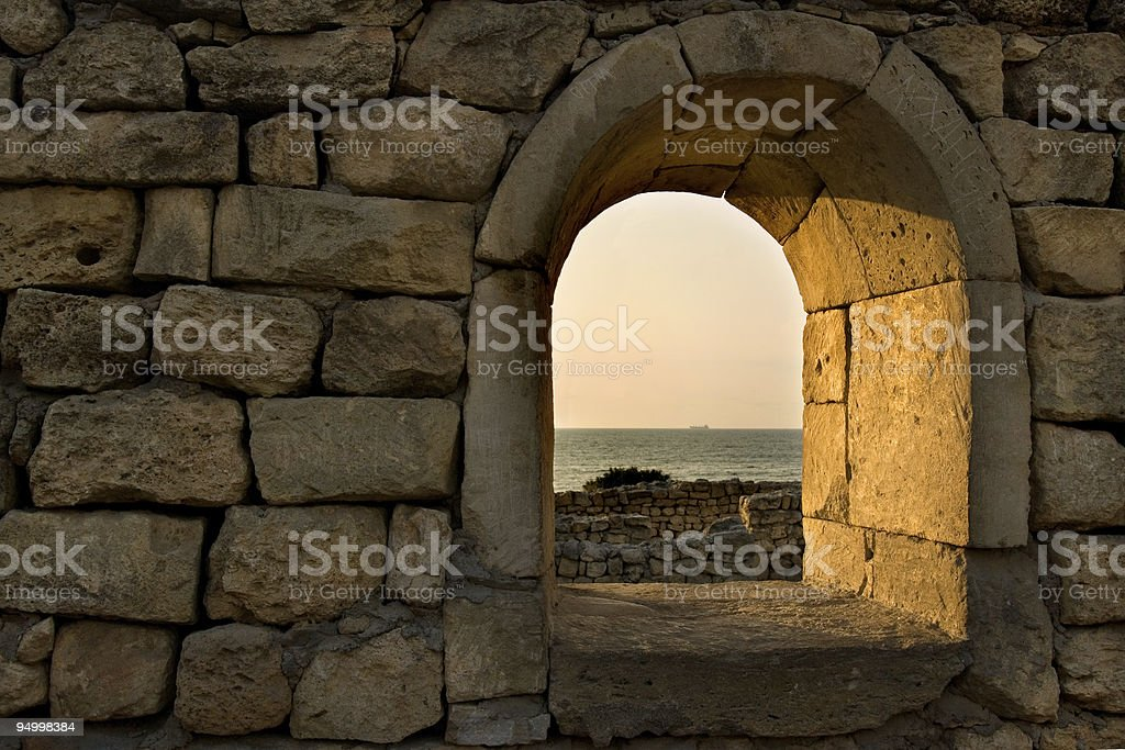 Ancient Wall royalty-free stock photo
