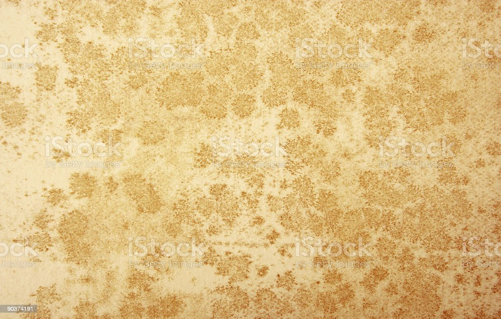 Ancient Water Stains stock photo