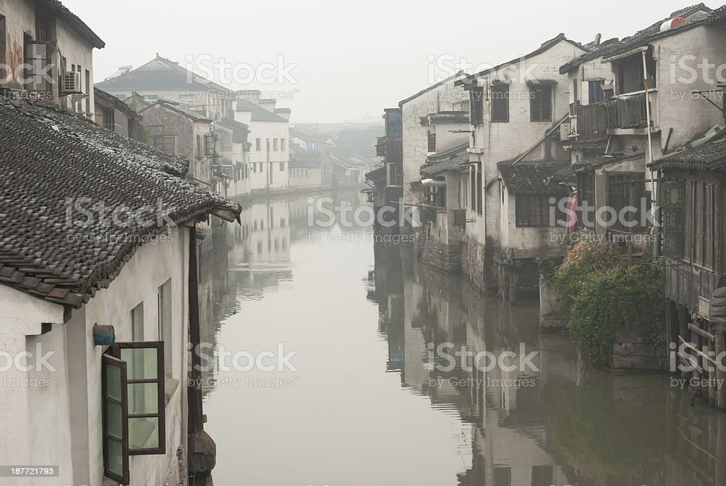 Ancient Water Town stock photo