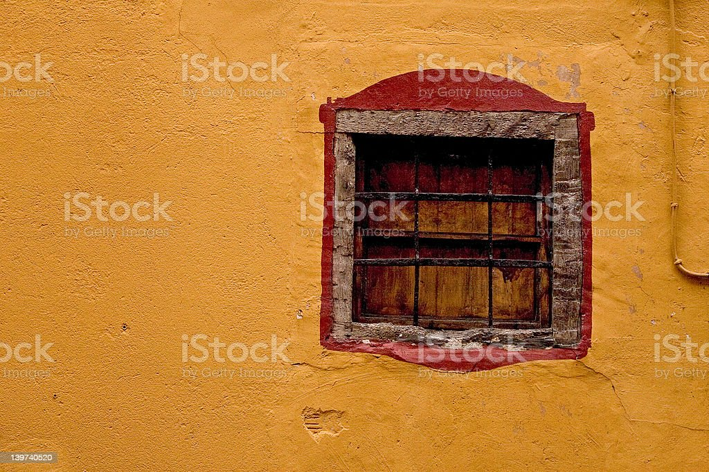 Ancient window royalty-free stock photo