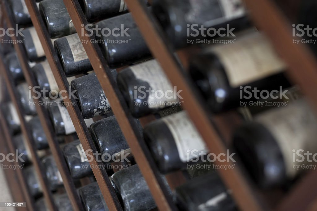 Ancient wine royalty-free stock photo