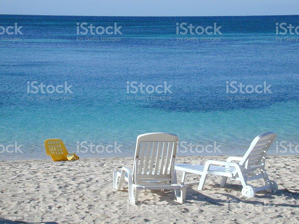 Ancon Beach, Cuba royalty-free stock photo