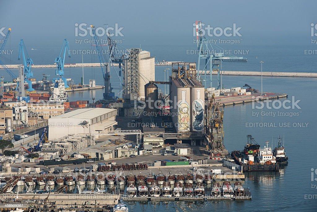 Ancona: Harbor royalty-free stock photo