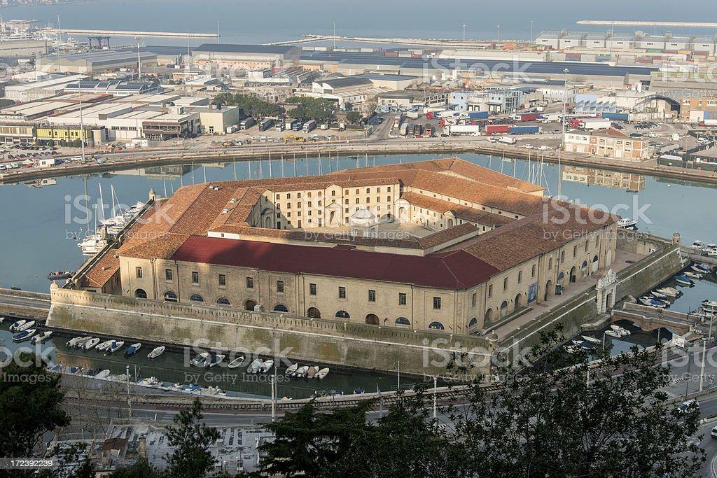 Ancona: Lazzaretto royalty-free stock photo