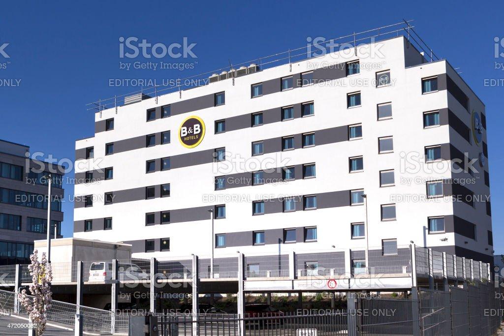 B and B Hotel stock photo