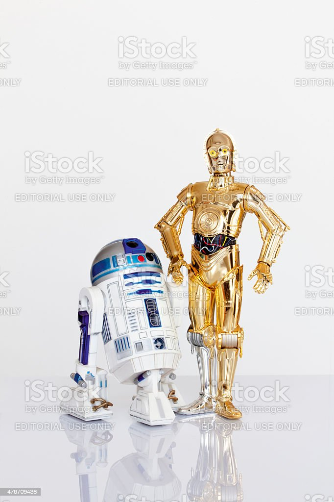 R2-D2 and C-3PO stock photo
