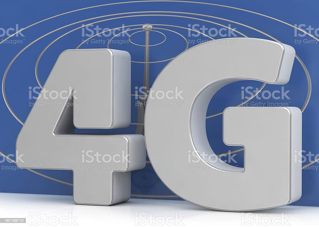 4G and Communication Antenna royalty-free stock photo