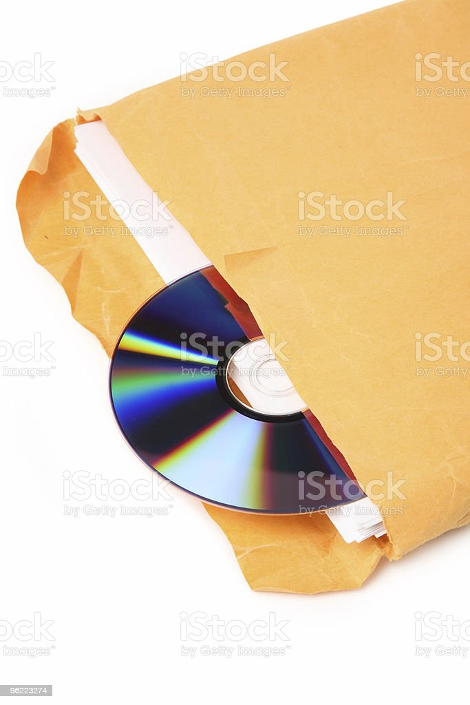 CD and document royalty-free stock photo