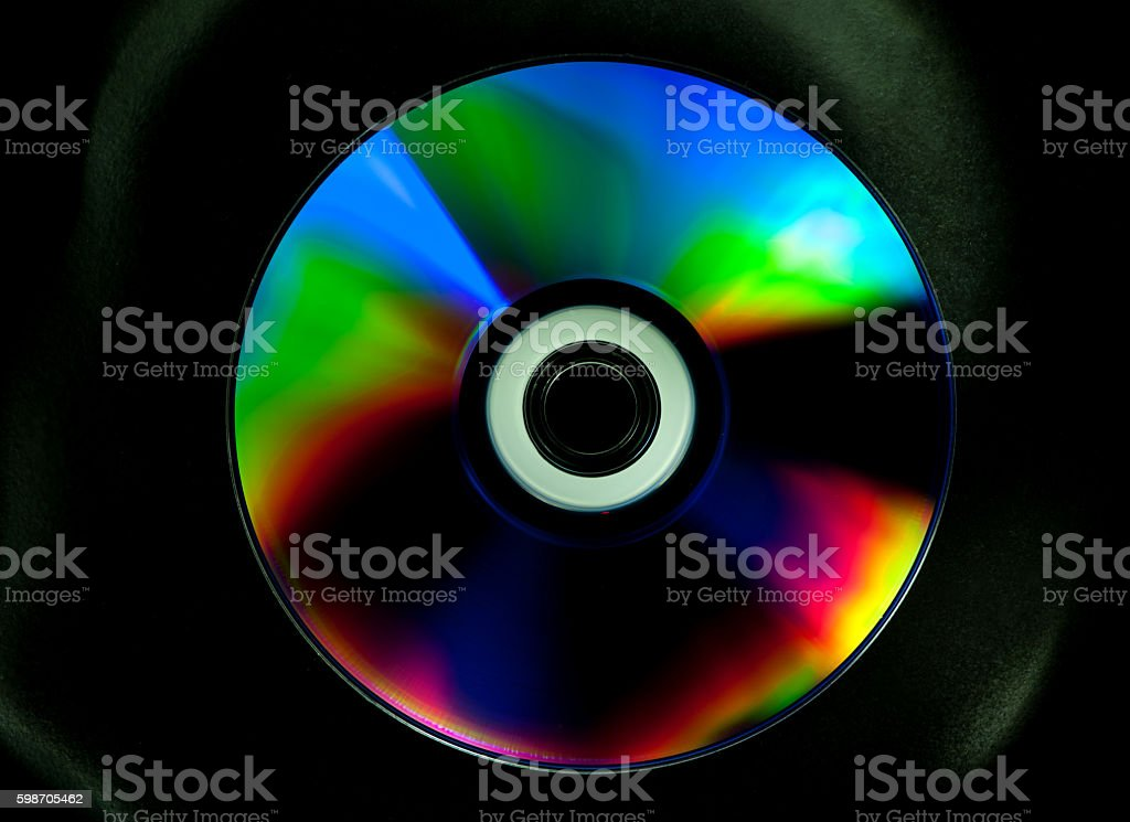 CD and DVD disk stock photo
