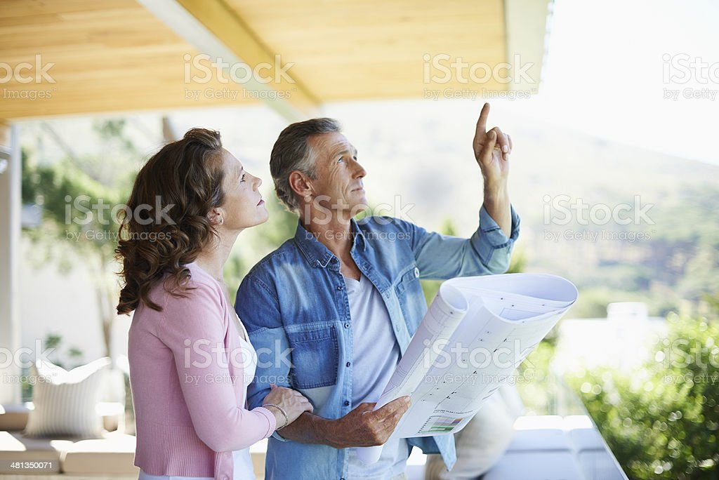 And maybe we should put something up here... stock photo