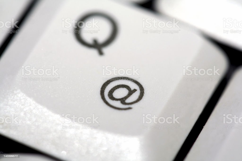 @ and Q stock photo