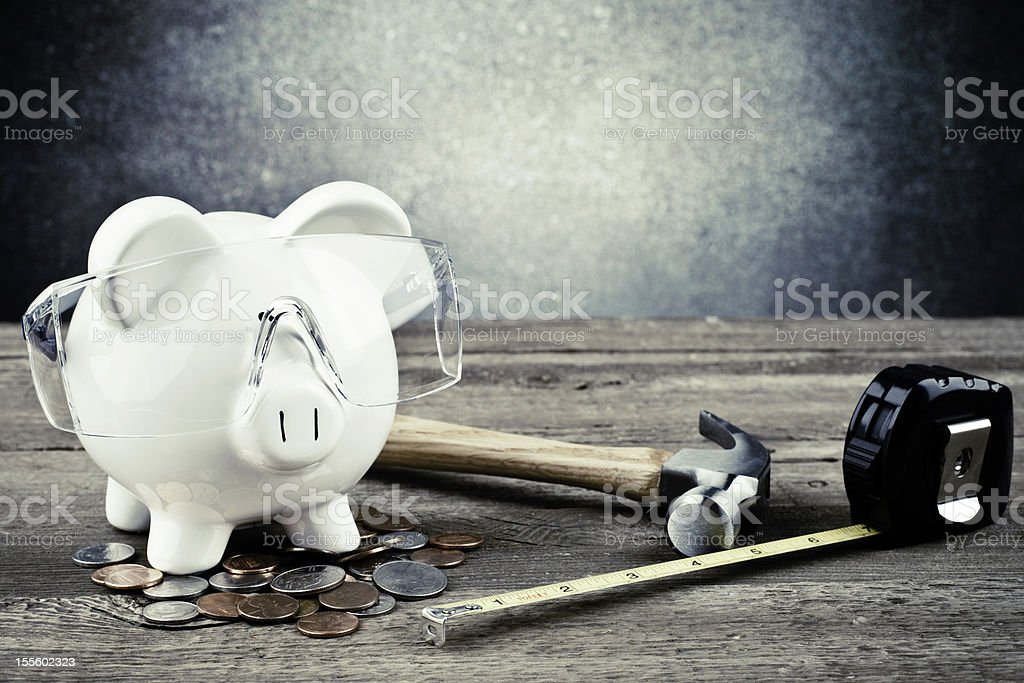 DIY and Save Money stock photo