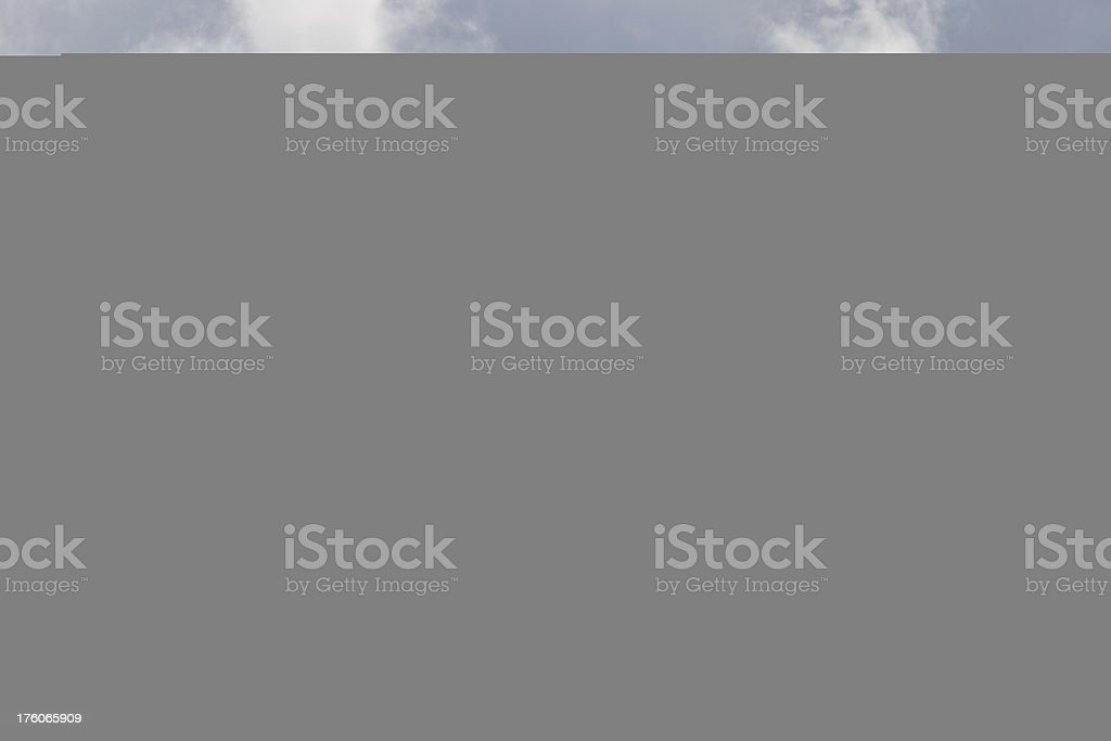 F-15 and Storm Clouds royalty-free stock photo
