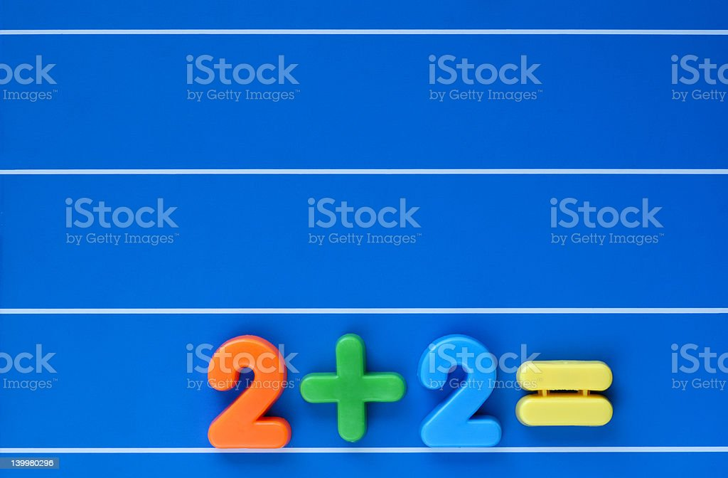 And the answer is? royalty-free stock photo