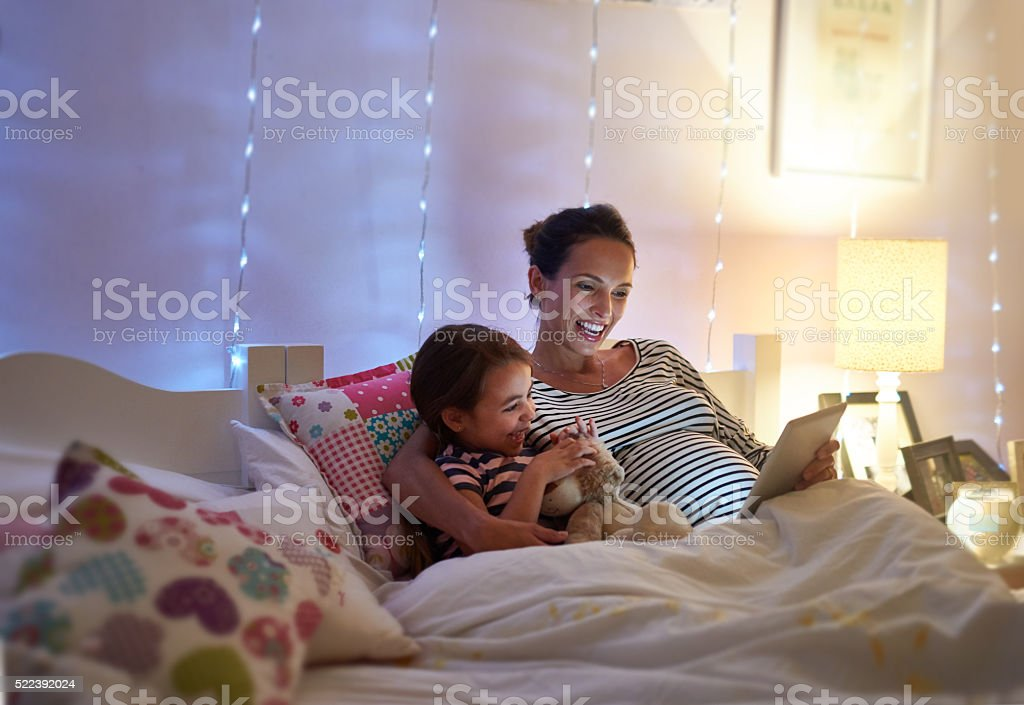 And the princess lived happily ever after stock photo