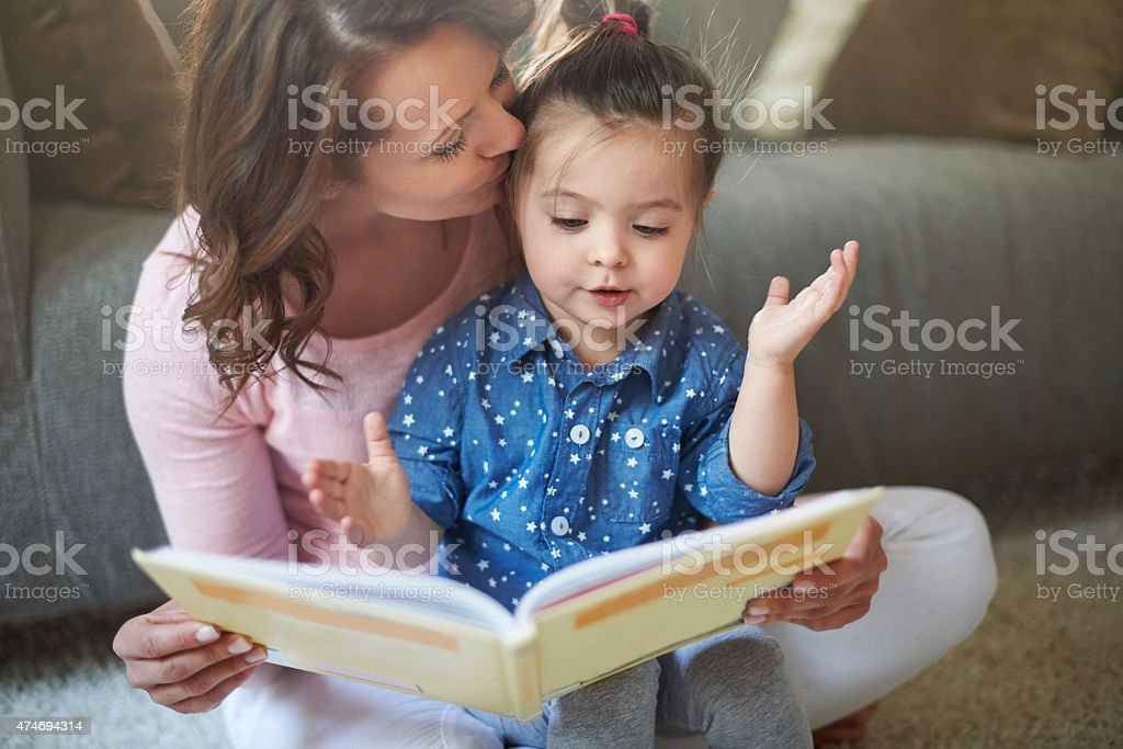 And they lived happily ever after.... stock photo