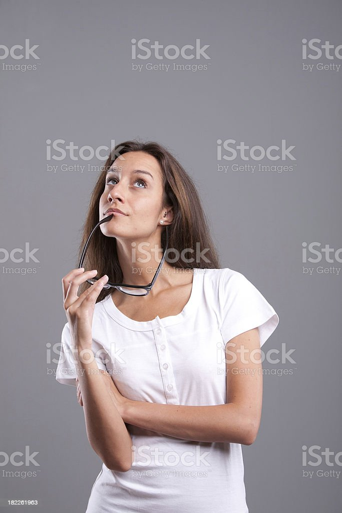 And what could happen If I ...? royalty-free stock photo
