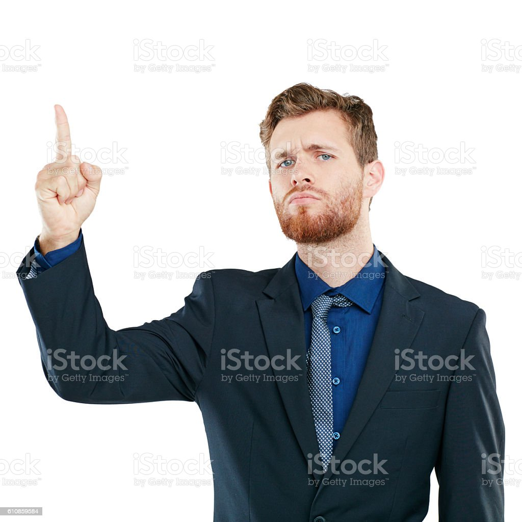 And what exactly is this all about? stock photo