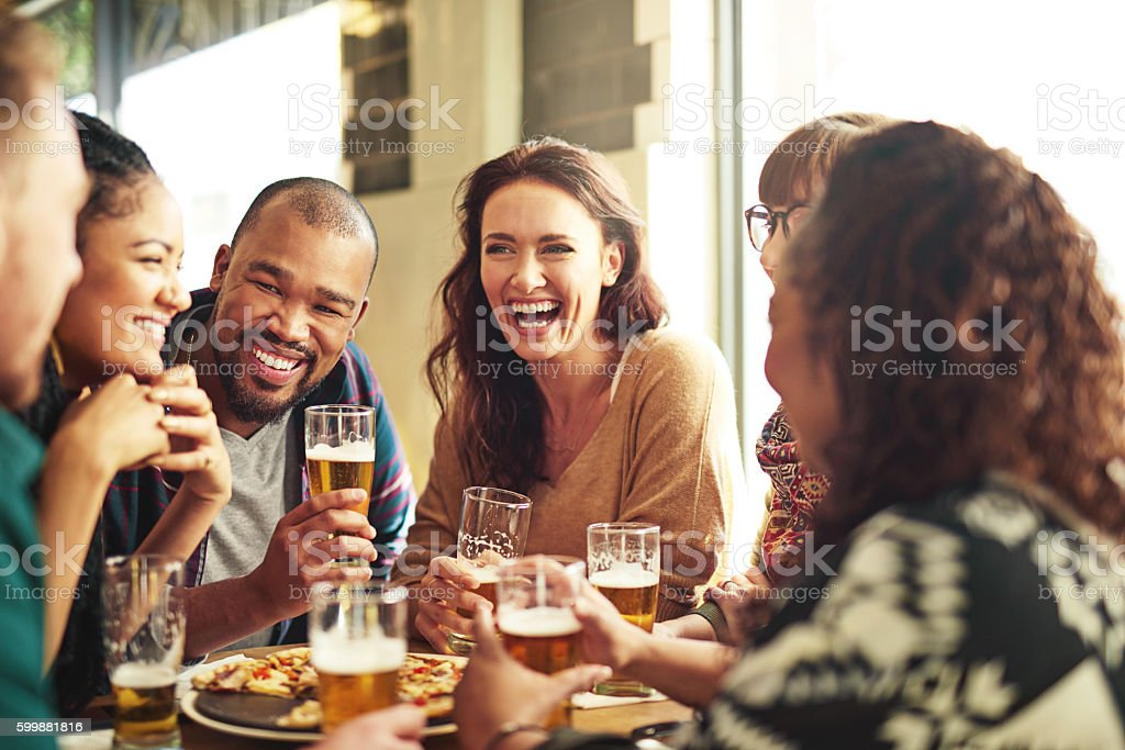 And what helps us laugh better than our crew? stock photo