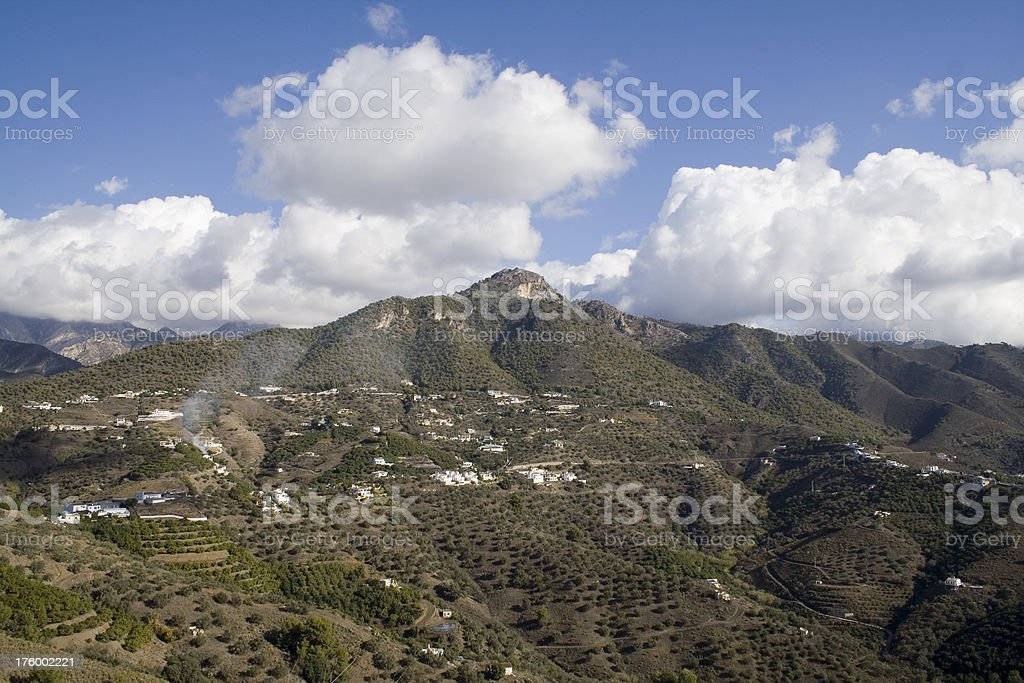 Andalucian landscape #1 stock photo