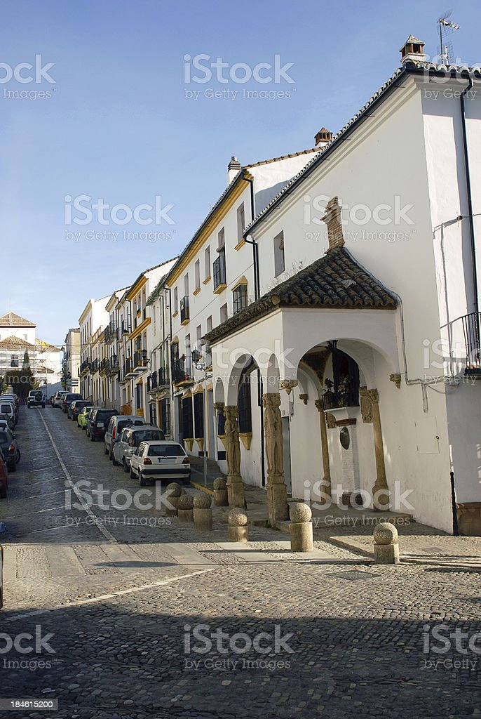 Andalucian Street stock photo