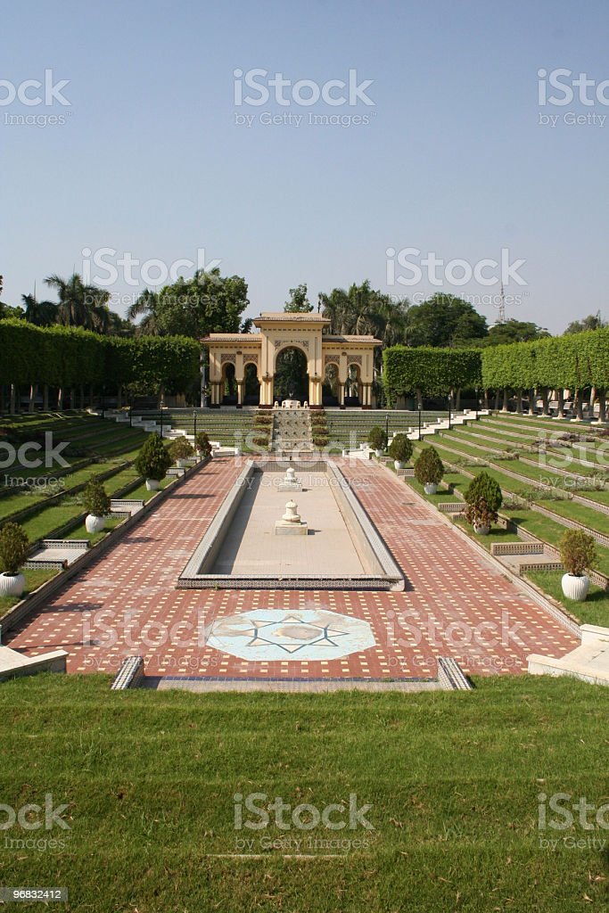 Andalusia Garden royalty-free stock photo