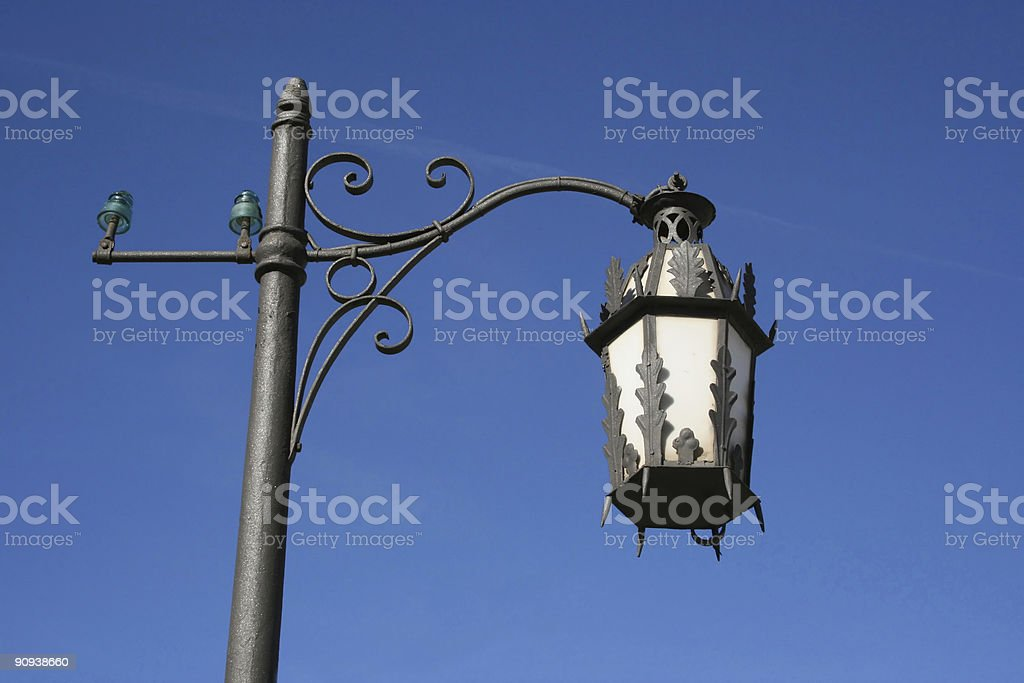 Andalusia street lamp royalty-free stock photo