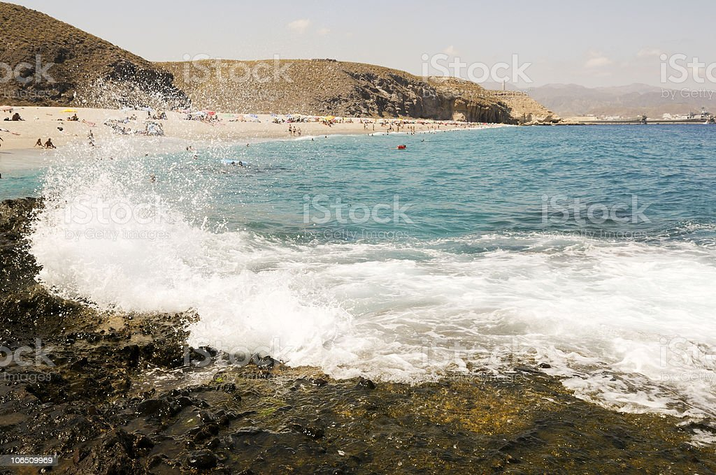 Andalusian beaches stock photo