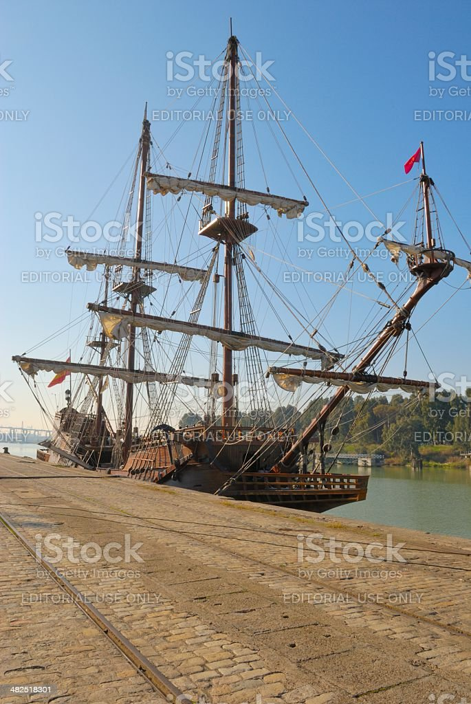 Andalusian Galleon stock photo