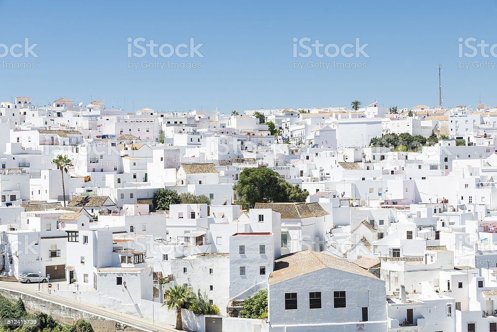 Andalusian village, Spain stock photo