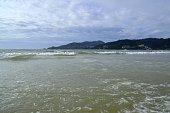 Andaman sea at Patong beach, Phuket