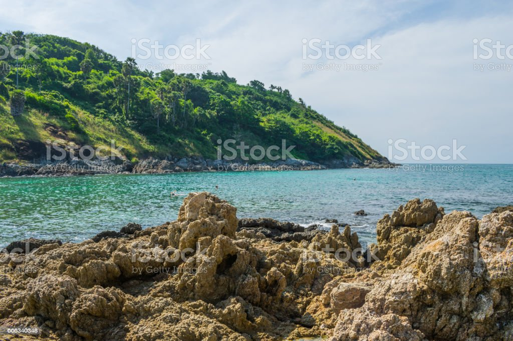 Andaman view point phuket thailand stock photo