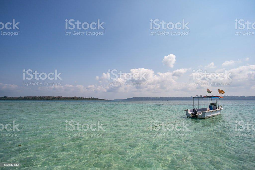 Andaman_Boat_India stock photo