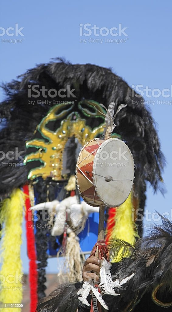 Andea little drum royalty-free stock photo