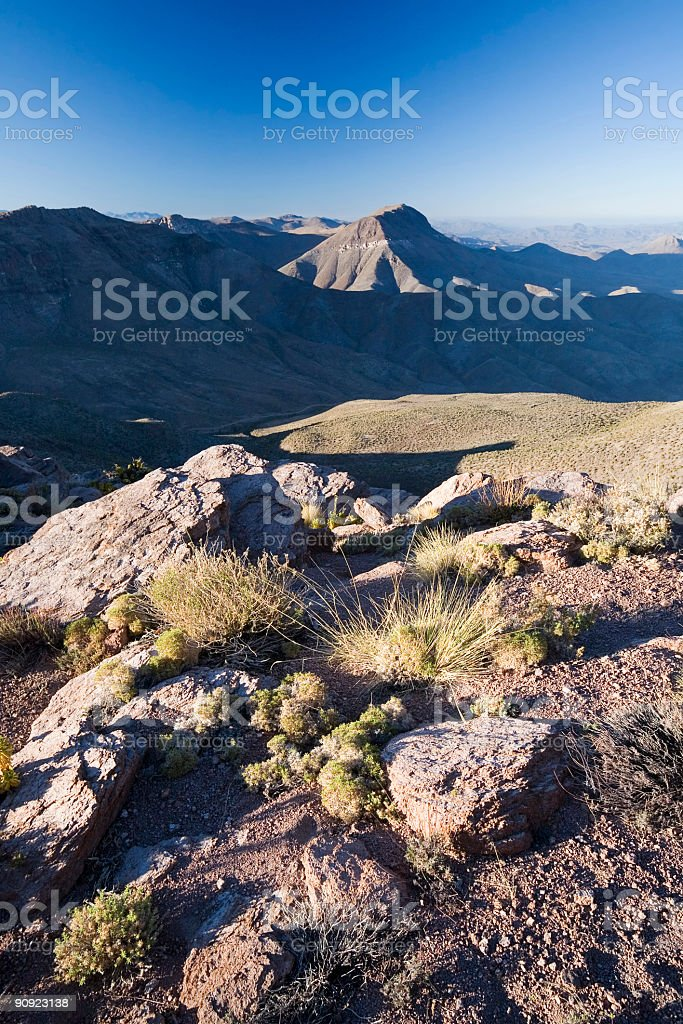 Andean View stock photo