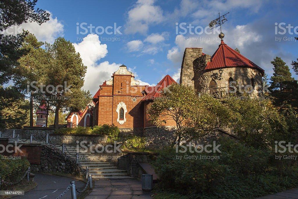 Andersen Grad - fairy town stock photo