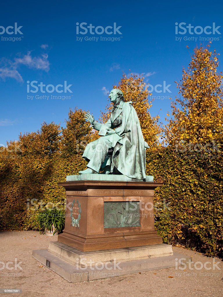 H. C. Andersen royalty-free stock photo