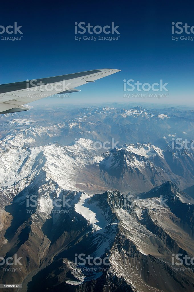 Andes Mountains royalty-free stock photo